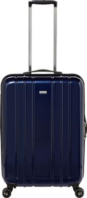 Linea , Galaxy Blue 8 Wheel Hard Medium Suitcase, Blue