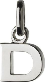 Links Of London , D Charm, Silver