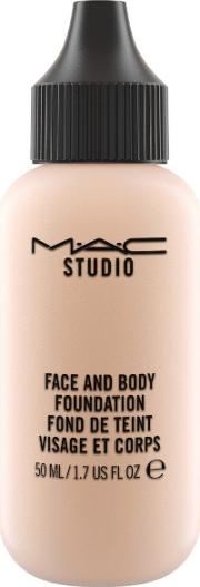 Mac , M A C Studio Face And Body Foundation 50 Ml, N1