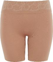 Maidenform , Peek Out Shapers Seamless Shorty, Nude