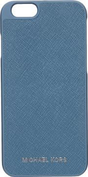 Michael Kors , Electronic Leather Iphone Cover, Blue