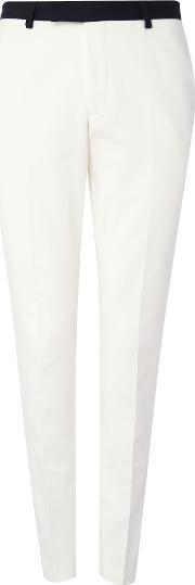 Noose And Monkey , Men's  Everton Suit Trousers, White
