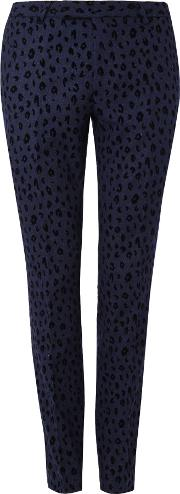 Noose And Monkey , Men's  Kahlo Suit Trousers, Navy