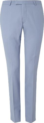 Noose And Monkey , Men's  Warhol Suit Trousers, Blue