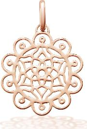 Oak , Amazing Dreams Rose Pendant Charm, Rose Gold
