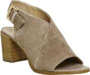 Office , Mythical Cross Vamp Shoeboots, Taupe