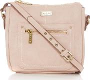 Ollie & Nic , Annie Small Hobo Bag, Pink