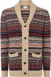 Pepe Jeans , Men's  Tom Knitted Cardigan, Multi Coloured