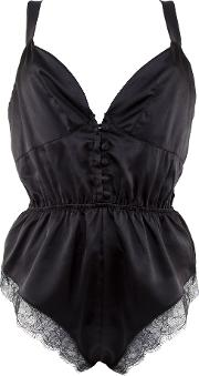 Playful Promises , Camille Button Teddy, Black