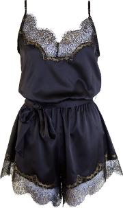 Playful Promises , Penelope Playsuit, Black Gold