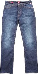 Men's  Burnage Straight Fit Rinse Washed Jeans, Denim