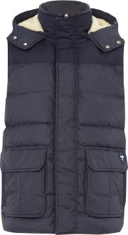 Puffa , Men's  Hill Gilet, Navy