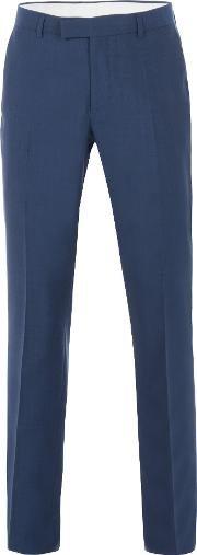 Racing Green , Men's  Anton Blue Panama Suit Trouser, Blue