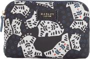 Radley , Folk Dog Small Pouch, Black