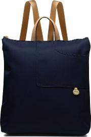 Radley , Pocket Essentials Large Zip Backpack, Navy