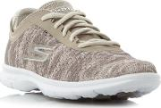 Skechers , Go Step Watermark Print Lace, Taupe