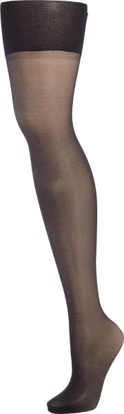 Spanx , Luxe Leg High Waisted Sheers, Black