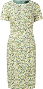 Sugarhill Boutique , Ivana Shift Dress With Piping, Green