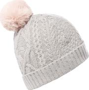 Ted Baker , Cable Knit Bobble Hat, Light Grey