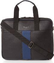 Ted Baker , Webbing Document Bag, Black