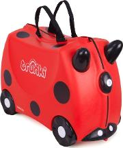 Trunki , Ride On Suitcase Harley Ladybug