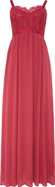Vero Moda , Sleeveless Cami Maxi Dress, Red