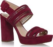 Vince Camuto , Jazelle High Heel Sandals, Red