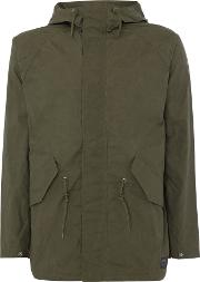 Volcom , Men's  Custom Fit All Weather Jacket, Green