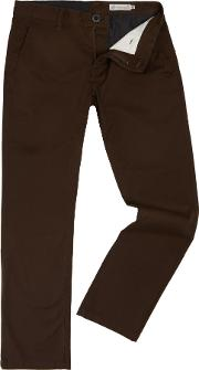 Volcom , Men's  Modern Fit Chino, Bark