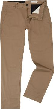 Volcom , Men's  Modern Fit Chino, Beige