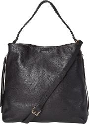 White Stuff , White Stuff Shea Hobo Bag, Black