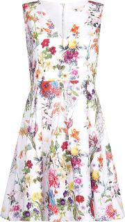 Yumi , Floral Skater Dress, Multi Coloured