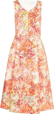 Damsel In A Dress , Abstract Full Dress, Multi Coloured