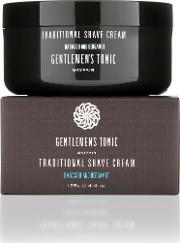 Gentlemens Tonic , Traditional Shave Cream 125g