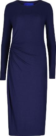 Winser London , Rose Jersey Dress, Navy