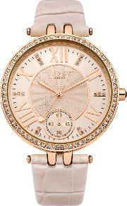 Lipsy , Ladies Nude Strap Watch, Nude