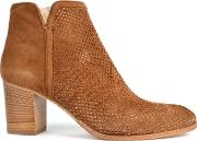 Elia B , Perry Ankle Boots, Brown