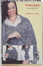 Emma Jane , Nursing Scarf, Black