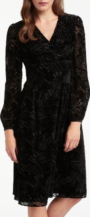 Bruce By Bruce Oldfield , Devore Wrap Dress