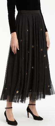 Bruce By Bruce Oldfield , Embellished Skirt