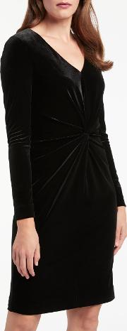 Bruce By Bruce Oldfield , Twist Velvet Dress