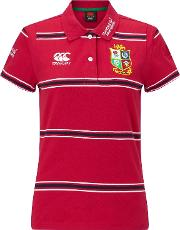 Canterbury Of New Zealand , British And Irish Lions Rugby Polo Shirt