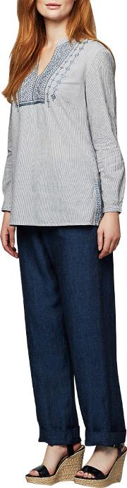 East , Linen Drawstring Trousers