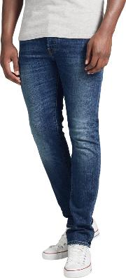 Edwin , Ed 80 Slim Tapered Jeans, Night Blue Denim