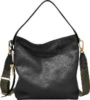 Fossil , Maya Small Leather Hobo Bag