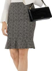 Marc Cain , Herringbone Print Skirt