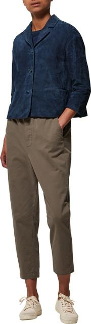 Toast , Twill Pull On Trousers