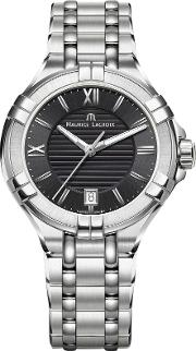 Maurice Lacroix , Ai1006 Ss002 330 1 Men's Stainless Steel Bracelet Strap Watch