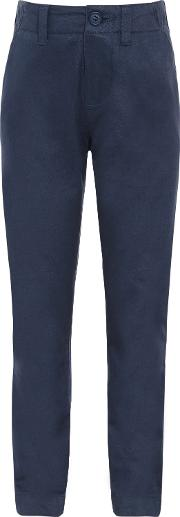 John Lewis Heirloom Collection , Boys' Twill Chino Suit Trousers, Navy