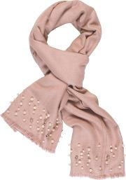 Chesca , Pearl Beaded Pashmina